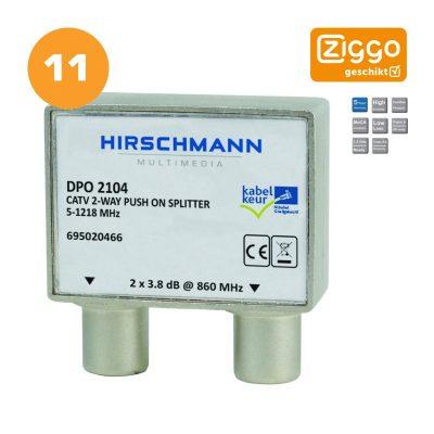 Hirschmann DPO 2104 - Ziggo geschikt 11