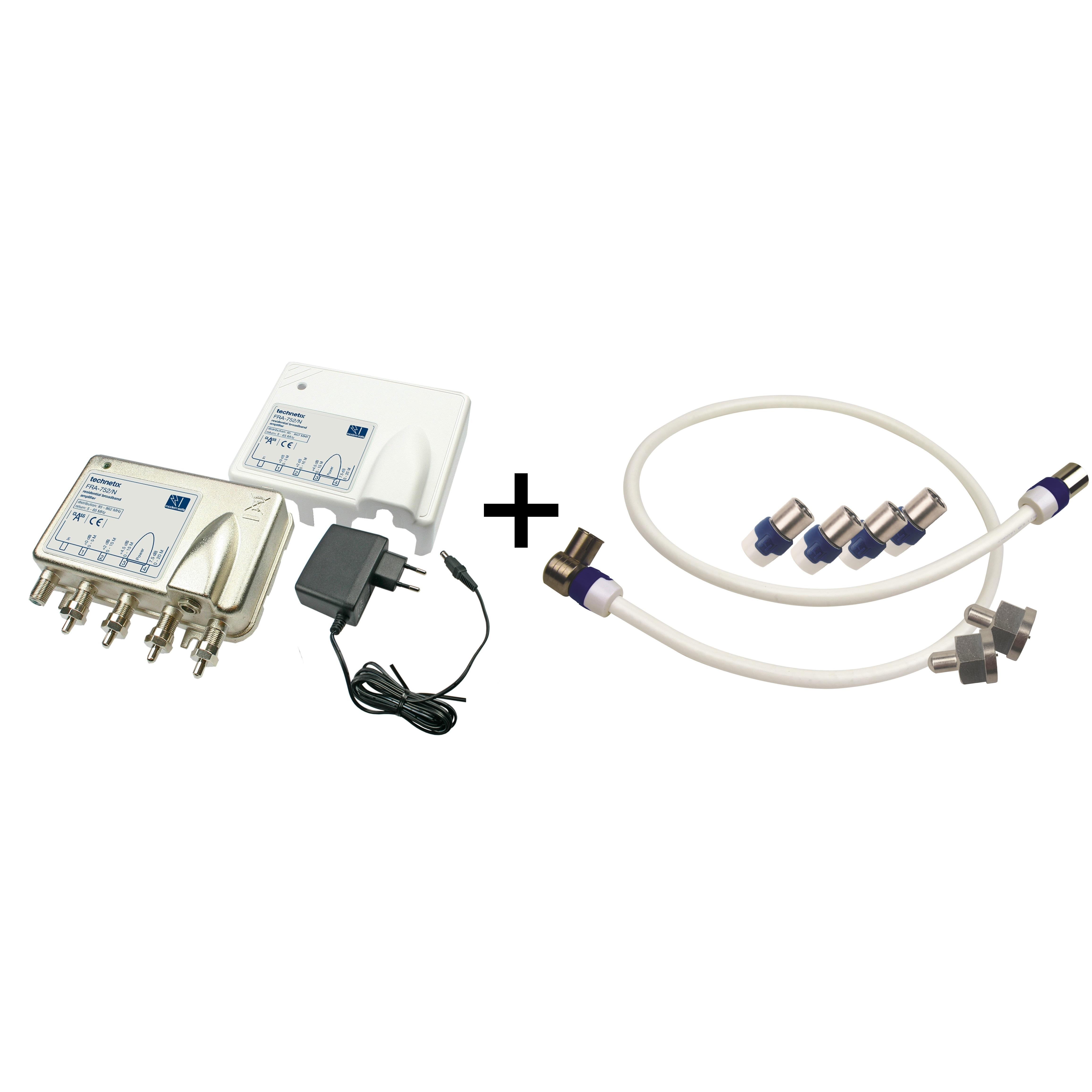 Technetix FRA-752N + Hirschmann SET 4114