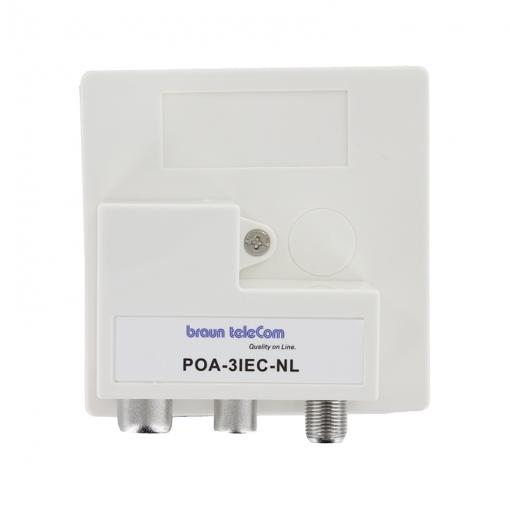 Braun Telecom POA-3IEC-NL - Compleet